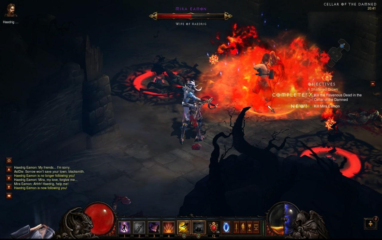 Test : Diablo III 4