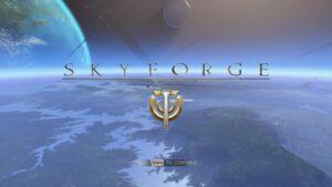 Skyforge-Accueil