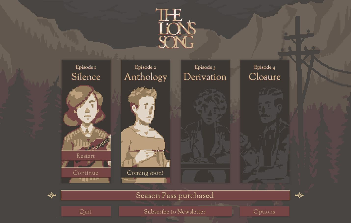 Test : The Lion's Song: Episode 1 - Silence 1