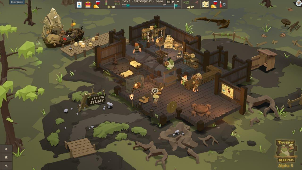 Tavern Keeper, une simulation de tenancier d'établissement respectable! 2