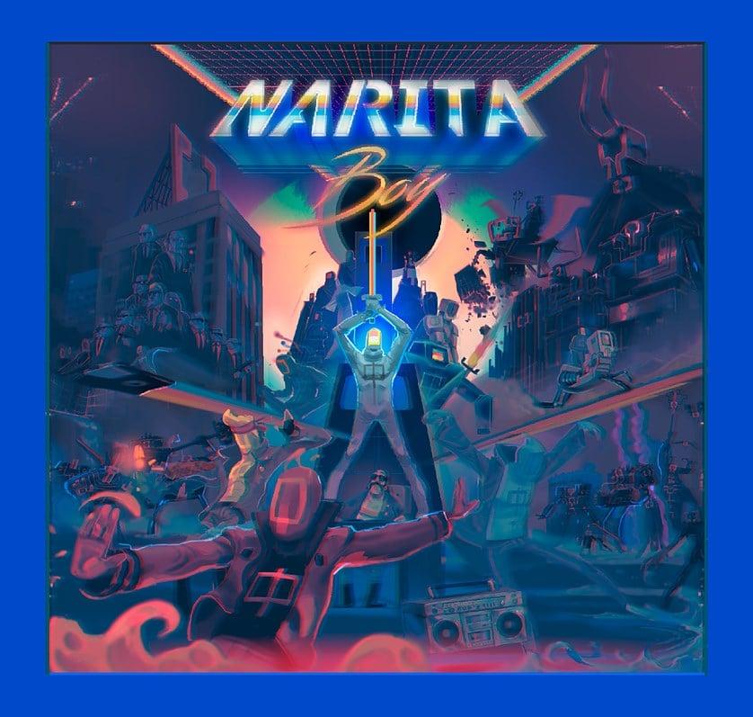 Narita Boy – Encore un jeu rétro tout en pixel sur Kickstarter