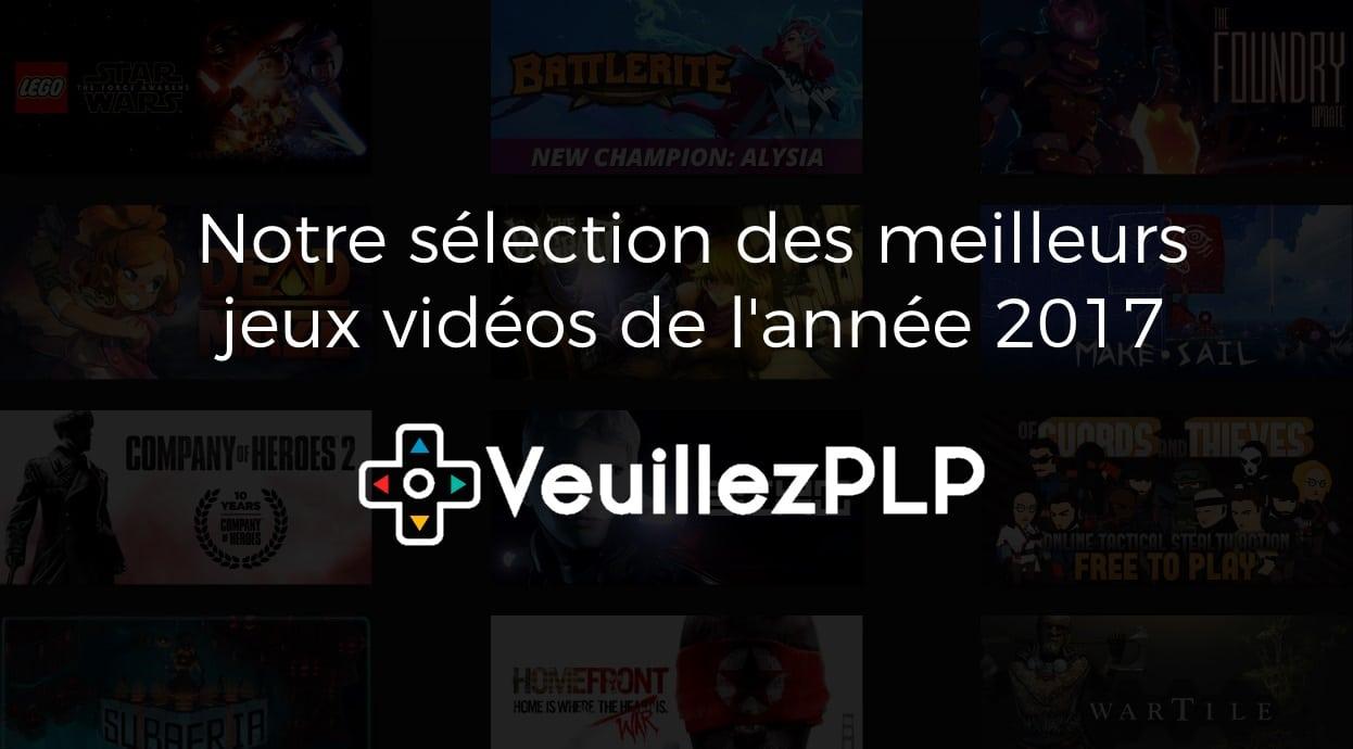 Notre sélection des meilleurs jeux vidéos de l'année 2017! 2