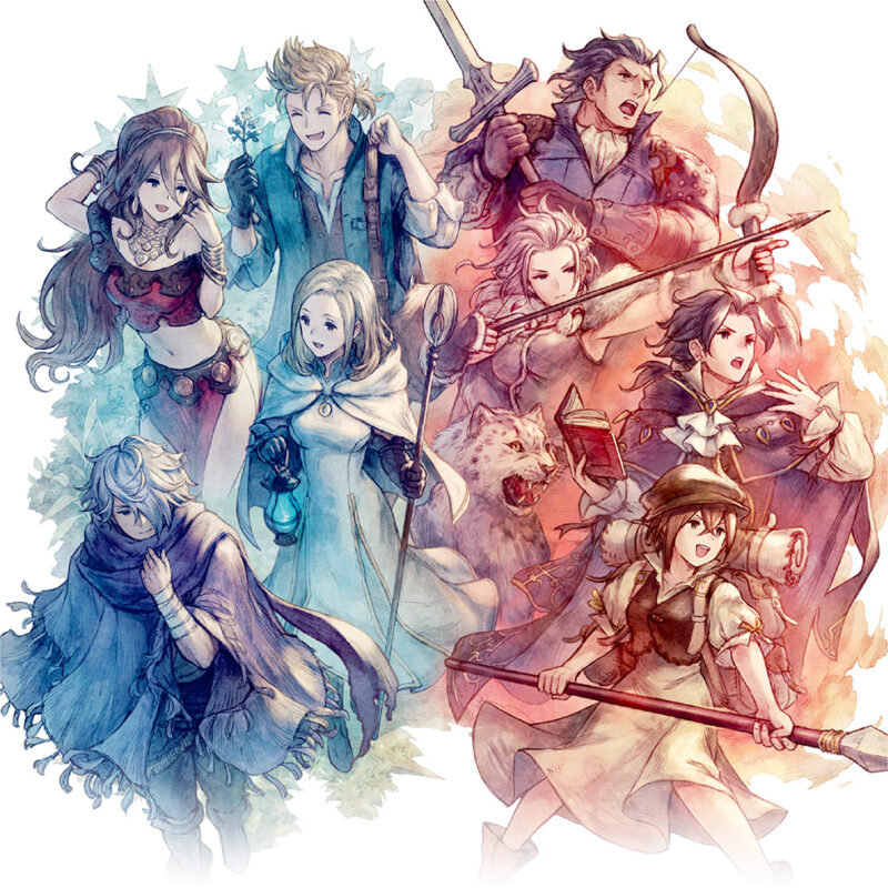 OCTOPATH TRAVELER ARRANGEMENTS - BREAK & BOOST disponible en précommande 1