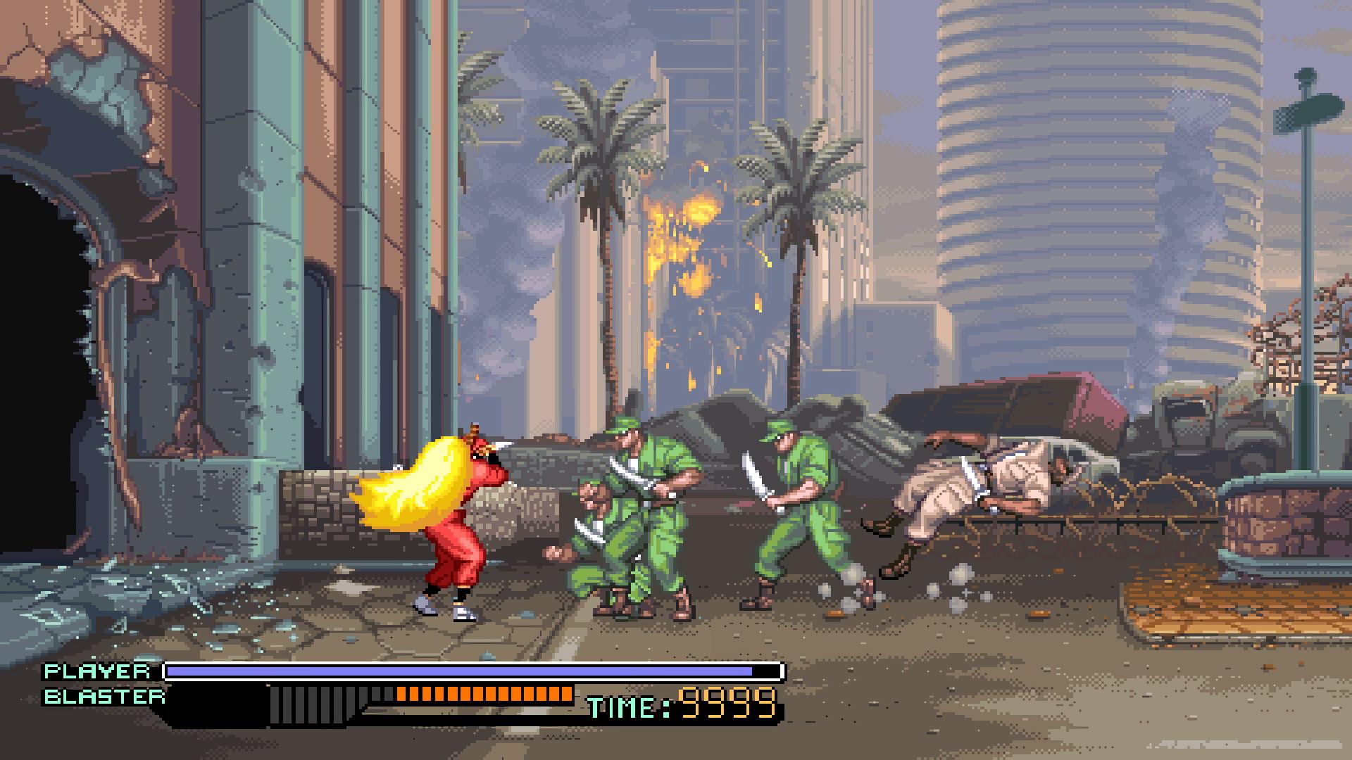 Test : The Ninja Warriors Once Again 4
