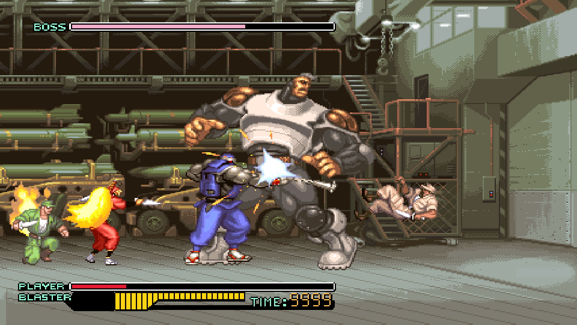 Test : The Ninja Warriors Once Again 7